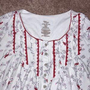 Secret treasures 2x (18w-20w) long sleeve gown
